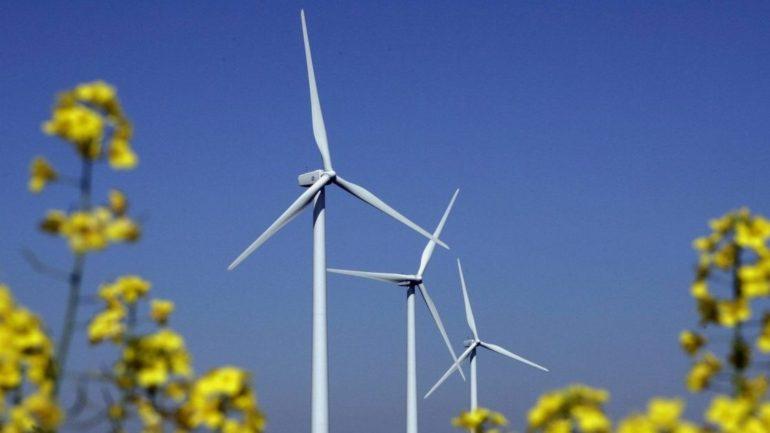 arbejde på Bornholm med produktion af vindmøller i energisektoren