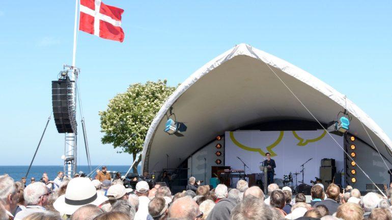 hvis du flytter din virksomhed til Bornholm, kan du få fordel af den opmærksom, øen får, fx i forbindelse med Folkemødet