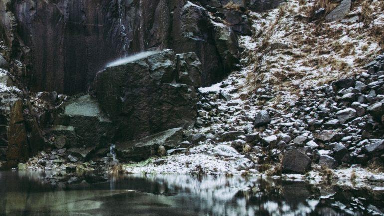 smukke klipper på Bornholm om efteråret