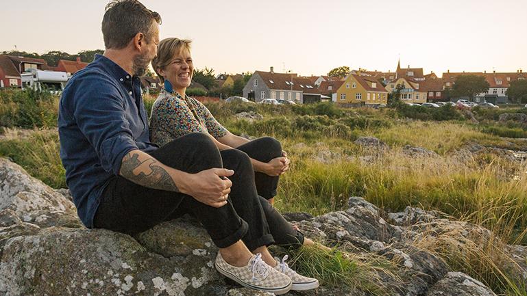 bo på Bornholm og få mulighed for at klatre på klipperne