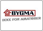 Samarbejdspartner Logo i kasse Bygma
