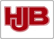 Samarbejdspartner Logo i kasse HJB