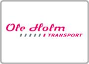 Samarbejdspartner Logo i kasse Ole Holm